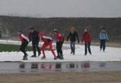 Rob Rijnsent - natuurlijk tevens op Flevonice in Biddinghuizen geschaatst, 24 dec. 2007