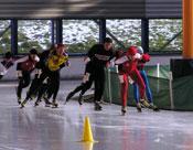 Rob Rijnsent - schaatsen op ijsbaan de Meent in Alkmaar