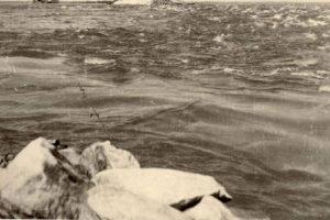 Wieringermeer onder water tijdens de tweede wereldoorlog